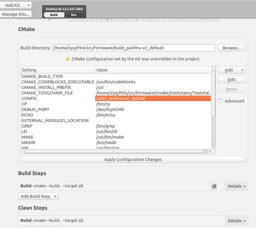 QT Creator can't upload - Software Development - PX4