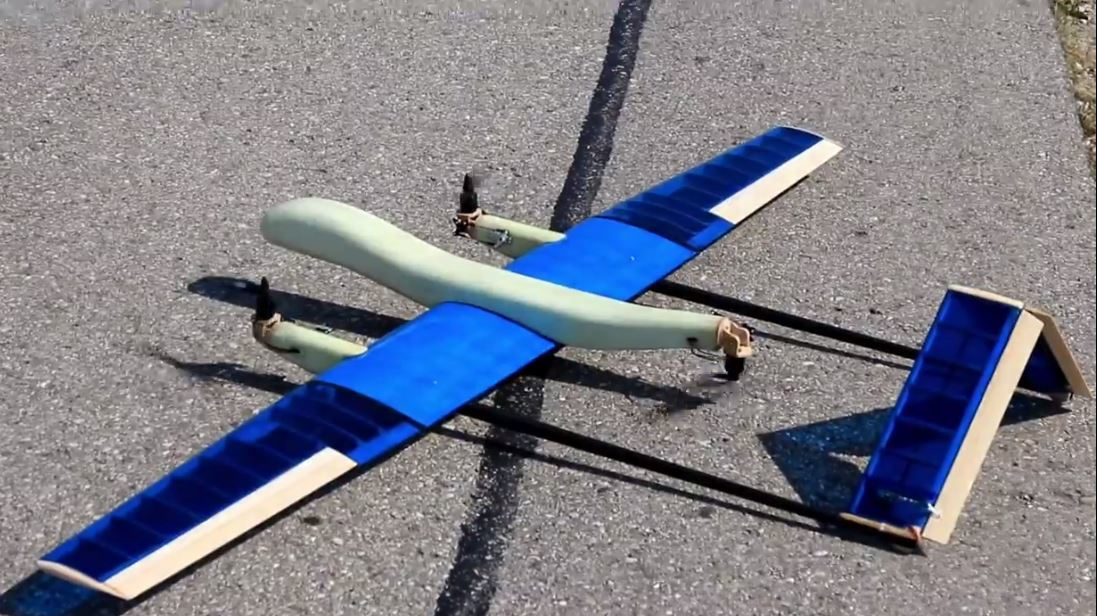 VTOL Tri-Copter Torque balance mechanism - Configuration and
