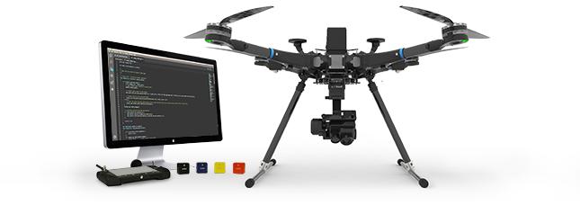 mise en situation drone