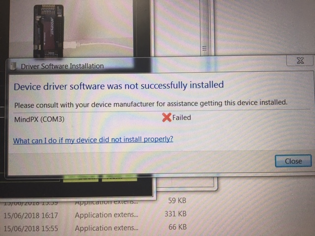 Pixhawk 4 device driver not found! - Flight Controllers - PX4