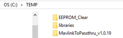 location of wacom firmware download temp file