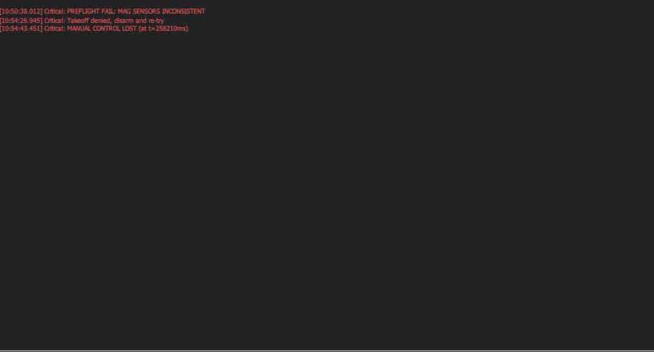 Pwm test not working & preflight fail error - Pixhawk - PX4