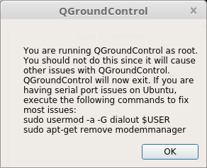 QGroundControl fails to open serial port - PX4 Discussion