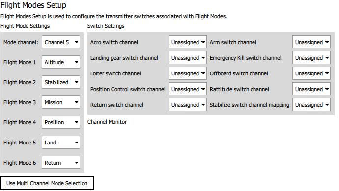 PX4_flightmodes